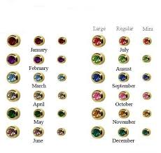 studex earrings studex ear piercing studs assorted bezel set birthstones buy