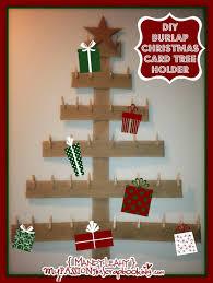 maxresdefault card holder diy burlap tree