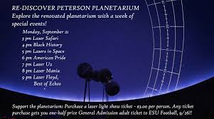 star theater pro home planetarium events 2014 science and mathematics education center emporia