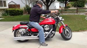 firing up the beast 2003 kawasaki vulcan meanstreak youtube