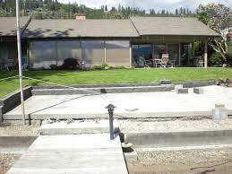 mode concrete acid stain your concrete block retaining wall