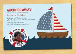 nautical birthday invitations templates ideas u2014 all invitations ideas