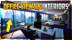 Ceo Office Interior Design Gta 5 All U0027office U0027 Views Entrances U0026 Interiors How To Become A