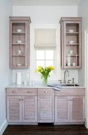 how to clean oak cabinets gray oak butler pantry cabinets transitional kitchen