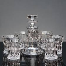 barware sets original brand new barware bar sets czech imports bohemia crystal