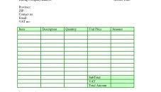 sample export invoice format of in excel free lawn caree microsoft