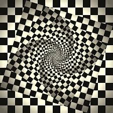 psychedelic chessboard digital art by karolina perlinska