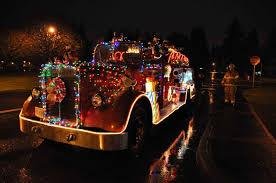 lights parade community association holiday joeus photo blog