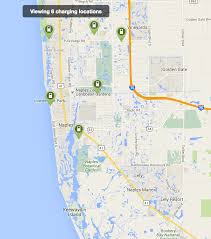 Map Of Naples Florida by A Brief Comparison Of Ev Charging Availability City To City