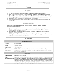 How To Create A Good Resume Sales Engineer Resume Berathen Com