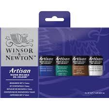 oil colour sets winsor u0026 newton