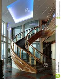 curved staircase stock image image of contemporary curved 3118693
