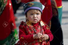new year attire a tamang child in traditional attire participating at a