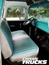 Chevy Truck Interior 1956 Chevy Pickup Truck Classic Trucks Rod Network