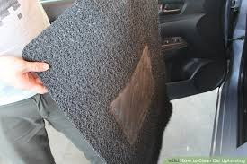 Do It Yourself Car Upholstery 7 Ways To Clean Car Upholstery Wikihow