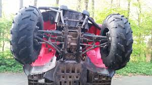 bent frame yamaha grizzly atv forum