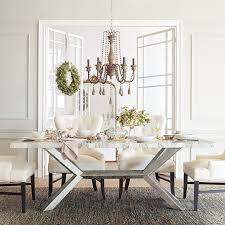 White Marble Dining Tables 86 Rectangle Century Marble Dining Table In White Marble