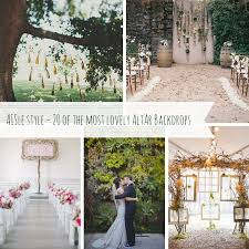 wedding backdrop vintage aisle decor altar backdrops chic vintage brides