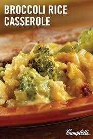 cuisiner brocoli broccoli rice casserole recette entrée la nourriture et douce