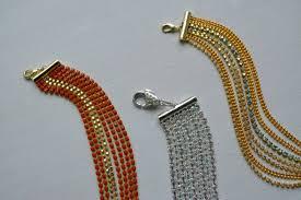 bracelet chain diy images How to make a statement bracelet candie cooper jpg