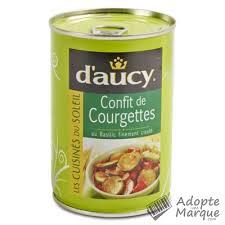 courgettes cuisin s d aucy courgettes cuisinées au basilic finement ciselé la conserve