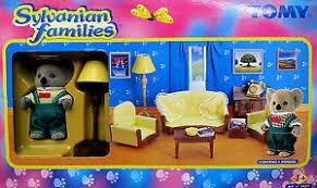 New Tomy Sylvanian Families Koala Father Living Room Set RARE EBay - Sylvanian families living room set