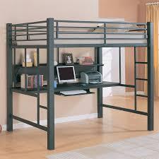 Loft Bunk Bed Desk Bedroom Loft Bunk Bed With Desk Underneath And Size Loft Bed