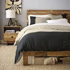 chambre deco bois inspiration déco chambre à coucher vintage cacao deco