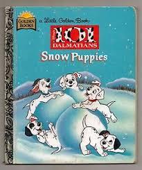 golden book 101 dalmatians snow puppies 1st edition