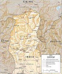 Himilayas Map About Sikkim Maps Of Sikkim Festivals Of Sikkim Museum Of Sikkim