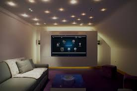 Livingroom Theatre Portland Smart Home Automation Portland Oregon 503 224 9400