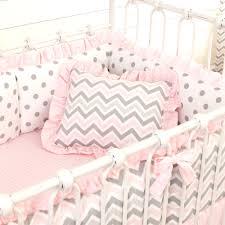 Baby Girl Nursery Bedding Set by Pink And Gray Chevron Baby Crib Bedding Amazing Grey Nursery