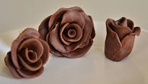 chocolate flowers chocolate clay roses recipe whats cooking america
