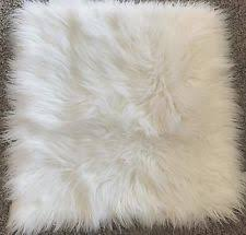 Pottery Barn Faux Fur Pillow Pottery Barn Faux Fur Square Home Décor Pillows Ebay