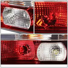 lexus sc300 roof rack 00 lexus sc300 sc400 pair of chrome housing clear u0026 red lens