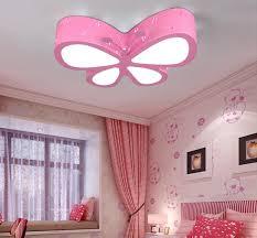 Wohnzimmer M El Restposten Pink Butterfly Deckenleuchten Cute Led Deckenleuchten Für