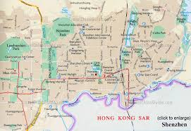 Map Of Hong Kong China by China Shenzhen Maps City Layout Location Attractions