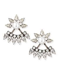 dannijo earrings dannijo tessie jacket earrings neiman