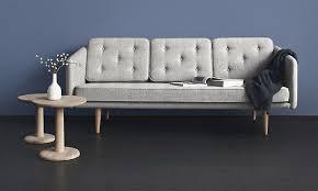 scandinavian sofa designed by famous danish designer borge mogensen