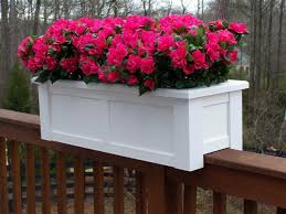 planters astonishing planters to hang on railing self watering