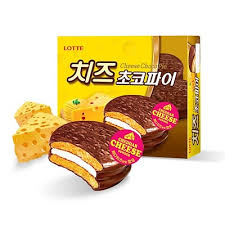 cuisine lotte qoo10 lotte food brand cheese choco pie 12ea 2box total 24ea