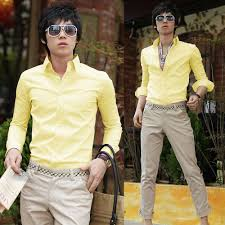 Canary Yellow Dresses For Weddings 15 Yellow Dress Shirt Ideas For Men