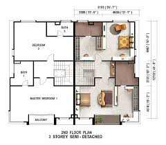 single storey semi detached house floor plan semi detached home plans single story semi detached house plans