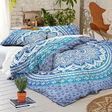 Teen Bedding And Bedding Sets by New Boho Blue Ombre Tapestry Full Duvet Cover Set Full Duvet