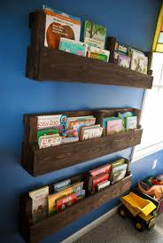 Wall Bookshelves For Nursery 20 easy diy shelves for the house pallets wood bookshelves and