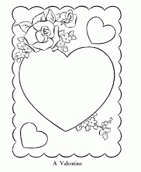 st valentine coloring pages pretty coloring st valentine coloring
