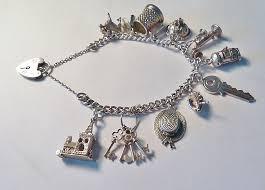 silver antique bracelet images Antiques atlas rare vintage sterling silver charm bracelets jpg