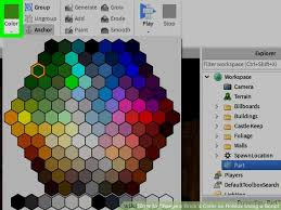 how to change a brick u0027s color on roblox using a script 7 steps