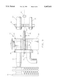 patent us5467611 two plate txv block connector for automotive a