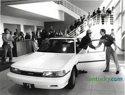 toyota inc first toyota camry produced in georgetown 1988 kentucky photo